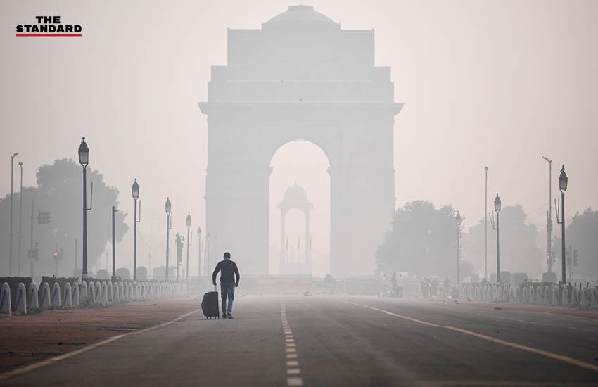 ภัยพิบัติทางธรรมชาติ ฝุ่น ปัญหามลพิษทางอากาศในอินเดีย