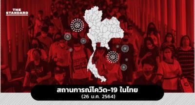 สถานการณ์โควิด-19 ในไทย (26 ม.ค. 2564)