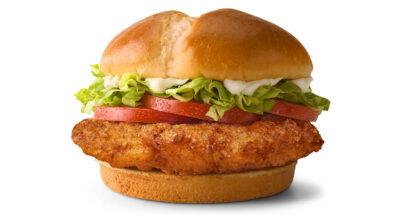 'แซนด์วิชไก่กรอบ' เกมเดิมพันครั้งใหม่ของ McDonald's