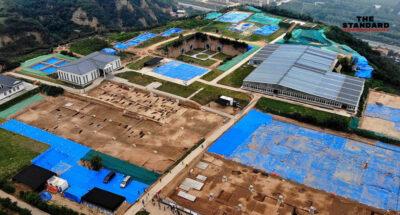 จีนพบซากพระราชวังเก่าแก่ที่สุดในเหอหนาน ชี้เชื่อมโยงอาณาจักรโบราณอายุ 5,300 ปี