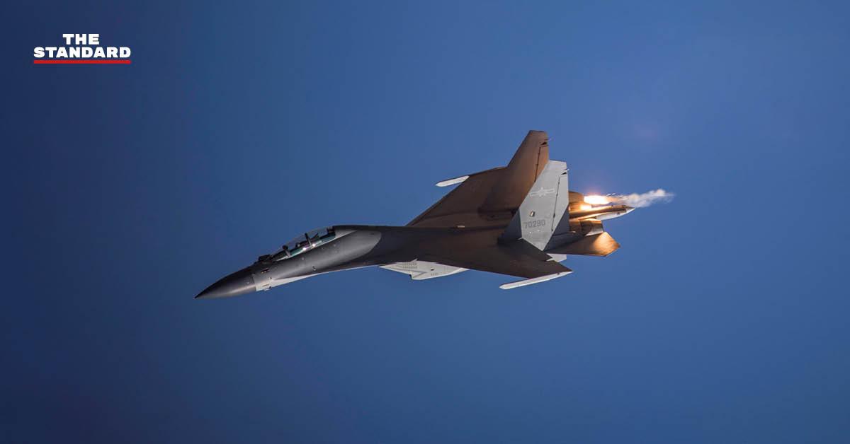ไต้หวันรายงาน เครื่องบินรบจีนรุกล้ำน่านฟ้าเขตป้องกันภัยทางอากาศครั้งใหญ่ 2 วันติดต่อกัน