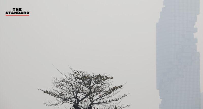 บรรยากาศเช้านี้ในกรุงเทพมหานคร หลังติดอันดับเมืองที่มีค่าฝุ่น PM2.5 มากที่สุดเป็นลำดับที่ 7 ของโลก