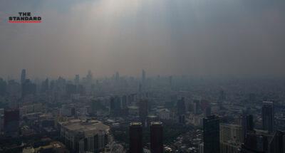 เย็นวันนี้ 23 พื้นที่ใน กทม.-ปริมณฑล ระดับคุณภาพอากาศมีผลกระทบต่อสุขภาพ หลังค่าฝุ่น PM2.5 เพิ่มขึ้นอย่างต่อเนื่อง