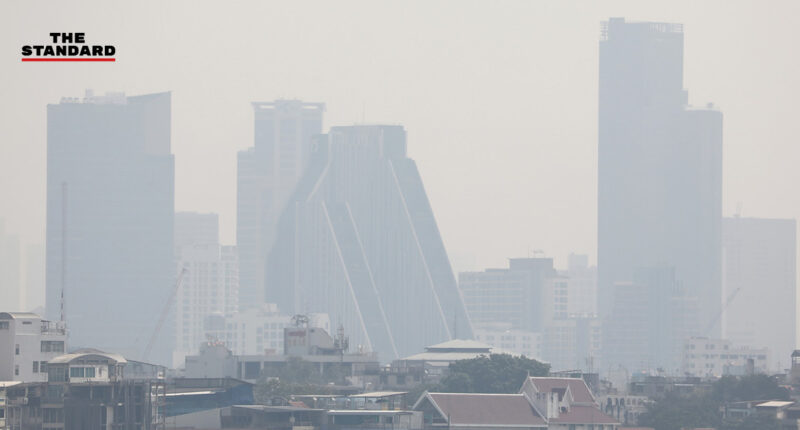 PM2.5 กทม. พุ่งติดอันดับ 7 ของโลก พบเกินค่ามาตรฐาน 70 พื้นที่