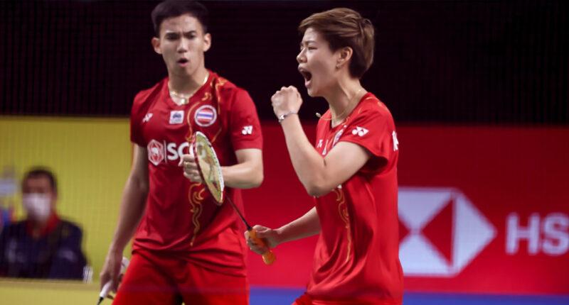 บาส-ปอป้อ ทะลุเข้ารอบก่อนรองชนะเลิศ โยเน็กซ์ ไทยแลนด์ โอเพ่น หลังชนะคู่มืออันดับ 12 ของโลกจากมาเลเซีย 2-1 เกม