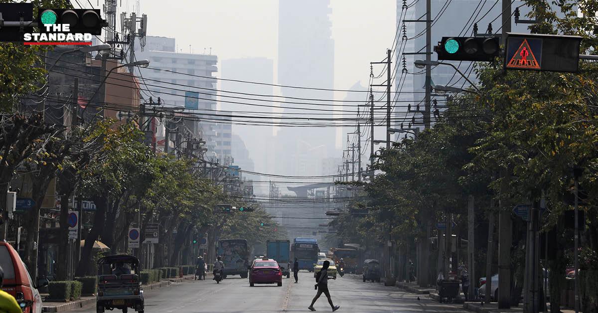 ศกพ. เผยค่าฝุ่น PM2.5 ปรับตัวสูงขึ้นทุกพื้นที่ ทั้งใน กทม. และต่างจังหวัด ขอความร่วมมือประชาชนช่วยกันลดฝุ่นละออง