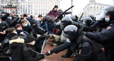 รัสเซียกล่าวหาสหรัฐฯ แทรกแซงกิจการภายใน หลังประณามเหตุสลายประท้วงกลุ่มหนุนผู้นำฝ่ายค้าน