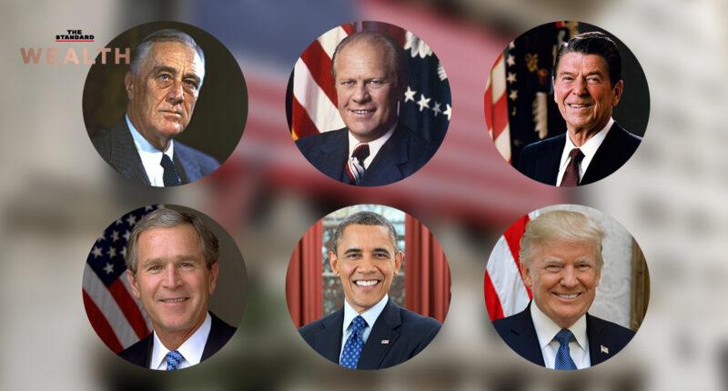 ย้อนรอยปรากฏการณ์ 100 วันแรกของ 6 ประธานาธิบดีสหรัฐฯ ผลต่อสินทรัพย์การลงทุนต่างๆ
