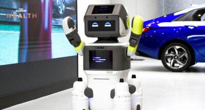 Hyundai เปิดตัวหุ่นยนต์ 'DAL-e' อำนวยความสะดวกลูกค้าในโชว์รูม ศูนย์บริการ นำร่องเกาหลีใต้ที่แรก