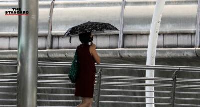 หลายพื้นที่ในประเทศไทย รวมถึง กทม. อุณหภูมิสูงขึ้น หนาวน้อยลง ภาคใต้ยังมีฝนปกคลุม