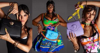 Versace ปล่อยแคมเปญใหม่ที่มี Hailey Bieber, Kendall Jenner และ Precious Lee นางแบบพลัสไซส์ที่แบรนด์ใช้เป็นคนแรก