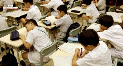ฮ่องกงเผยแนวปฏิบัติด้านความมั่นคง สอนเด็กนักเรียนอายุ 6 ขวบขึ้นไป เรียนรู้เคารพเพลงชาติ-กฎหมายความมั่นคง