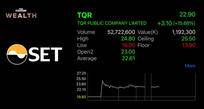 หุ้น TQR