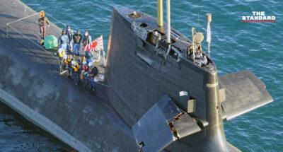 ประมวลภาพเรือดำน้ำญี่ปุ่นชนเรือสินค้า กองกำลังป้องกันตนเองคาดอาจเสียหายกว่าที่คิด