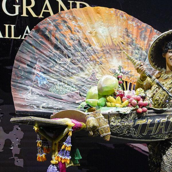 เปิดตัวชุดประจำชาติมิสแกรนด์ไทยแลนด์ พร้อมเปิดบ้านต้อนรับ 60 สาวงามสู้ศึก Miss Grand International ที่กรุงเทพฯ 27 มีนาคมนี้