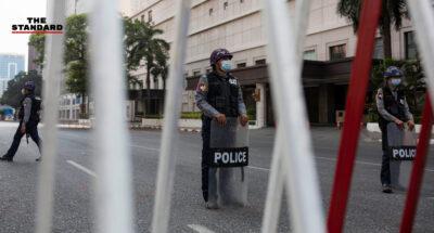 สื่อเมียนมาเผย สถานีตำรวจในย่างกุ้งไม่รับแจ้งความ คดีชายถูกตำรวจยิงเสียชีวิตระหว่างเคอร์ฟิว
