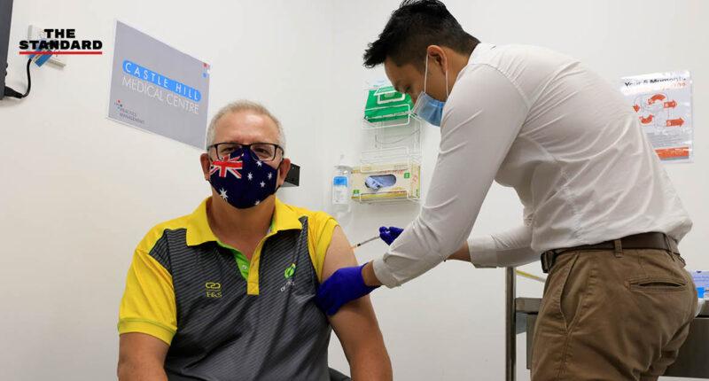 นายกฯ ออสเตรเลียประเดิมรับวัคซีนโควิด-19 สร้างความมั่นใจประชาชน ก่อนเริ่มฉีดทั่วประเทศพรุ่งนี้