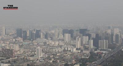 ค่าฝุ่น PM2.5 ใน กทม. เกินมาตรฐาน 65 พื้นที่ ควรเลี่ยงกิจกรรมกลางแจ้ง มีผลกระทบต่อสุขภาพ