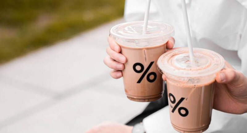 ฉลองวาเลนไทน์แบบดาร์ก (ช็อกโกแลต) ด้วยเมนูใหม่ % Dark Latte จาก % Arabica
