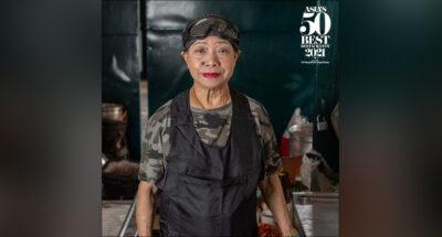 'เจ๊ไฝ' ได้รับรางวัล Icon Award จากเวทีอาหารระดับเอเชีย Asia's 50 Best Restaurants