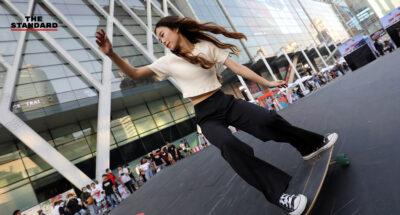 เซ็นทรัลเวิลด์พลิกลาน centralwOrld Square กว่า 1 พันตารางเมตร ให้เล่นสเกตฟรีถึง 31 มีนาคม