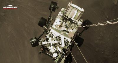 NASA เผยภาพบนดาวอังคารชุดแรกที่ถ่ายจากยานโรเวอร์ Perseverance