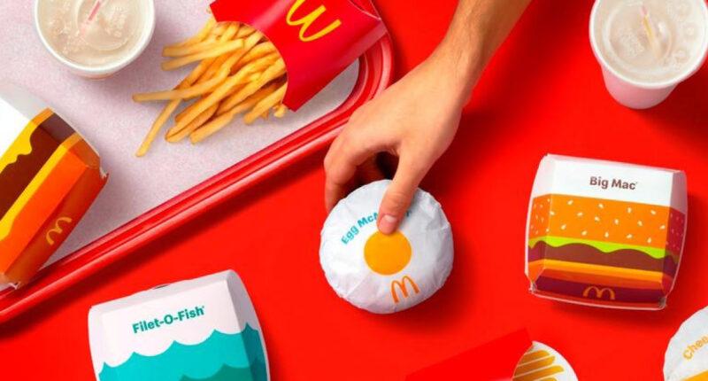 McDonald's เผยโฉมแรกของบรรจุภัณฑ์ใหม่ที่สดใสน่ารักกว่าเดิม