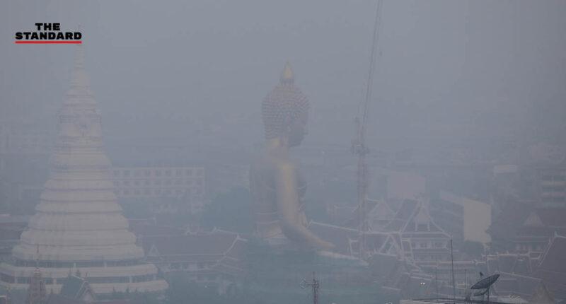 พบฝุ่น PM2.5 เกินค่ามาตรฐาน 68 จุดในพื้นที่ กทม. ขอประชาชนเลี่ยงกิจกรรมกลางแจ้ง