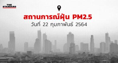 ค่าฝุ่น PM2.5 วันนี้
