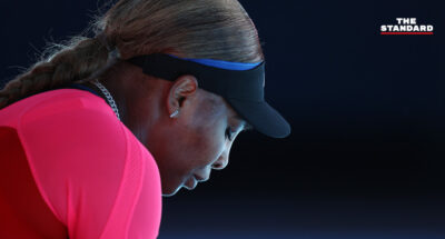 """""""ฉันพอแล้ว"""" เซเรนา วิลเลียมส์ เดินออกจากงานแถลงทั้งน้ำตา หลังแพ้ นาโอมิ โอซากะ ในศึกออสเตรเลียน โอเพน รอบรองชนะเลิศ"""