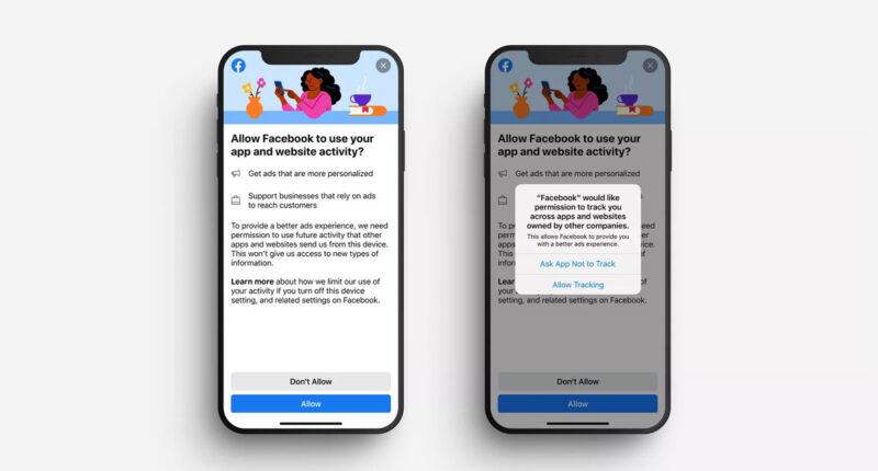 อัปเดต iOS 14 แล้วไง? Facebook เตรียมอัปเดตการแสดงผลใหม่ แจงรายละเอียดการติดตามข้อมูลบนแพลตฟอร์มอื่น