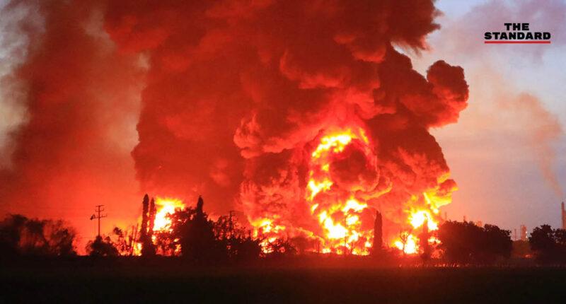ไฟไหม้โรงกลั่นน้ำมัน