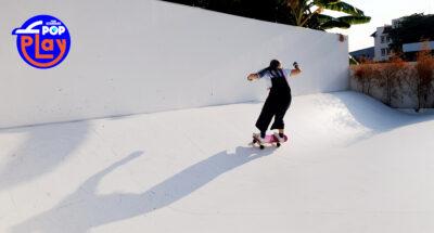 Never Wave ลานสเกตสีขาวที่มอบความสนุกและบรรยากาศที่ดีแก่นักเล่น