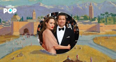 Angelina Jolie ขายภาพวาดหายากโดย Winston Churchill ที่อดีตสามี Brad Pitt เคยให้เป็นของขวัญในราคา 350 ล้านบาท