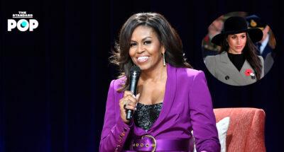Michelle Obama แสดงความเห็นต่อการสัมภาษณ์ของ Meghan Markle กับ Oprah Winfrey