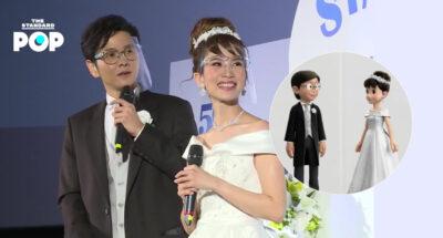 โต๋ ศักดิ์สิทธิ์ และ ไบรท์ พิชญทัฬห์ ร่วมให้เสียงพากย์ไทยเป็นโนบิตะและชิซูกะตอนโตใน Stand by Me Doraemon 2