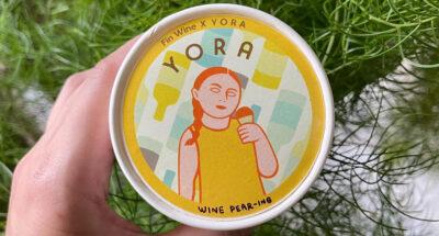 เปลี่ยนบรรยากาศให้การกินของหวานด้วย 'Wine Pear-ing' ไอศกรีมรสไวน์จากคราฟต์แบรนด์ Yora และ Fin Wine