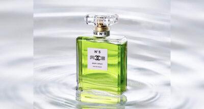 บริษัท MSCHF ปล่อยบอดี้สเปรย์ Axe No.5 ที่นำกลิ่น Axe มาใส่ในขวดน้ำหอม Chanel และขายในราคา 12,000 บาท