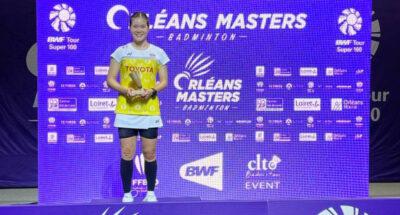 ทัพแบดไทยคว้าแชมป์ประเภทหญิงเดี่ยวและหญิงคู่ ออร์เลอ็อง มาสเตอร์ส 2021 ที่ฝรั่งเศส