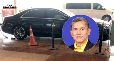 ส.ส. ภูมิใจไทย ขอโทษ ปมชาร์จแบตรถเบนซ์จากไฟรัฐสภา ยอมรับบกพร่อง-ไม่ทราบระเบียบปฏิบัติ