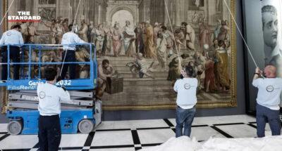 กรีซยืม 'พรมแขวนผนัง' หายากจากฝรั่งเศส ฉลอง 200 ปี สงครามประกาศอิสรภาพ