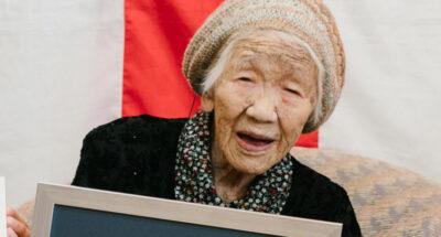คาเนะ ทานากะ บุคคลที่มีอายุมากที่สุดในโลกวัย 118 ปี เตรียมร่วมถือคบเพลิงโอลิมปิกเกมส์ 2021 ที่กรุงโตเกียว