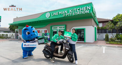 OR จับมือ LINE MAN เปิด Cloud Kitchen ในปั๊มแห่งแรกที่สาขามัยลาภ เล็งปั้นแพลตฟอร์ม 'Blue Card' เป็น Food Delivery