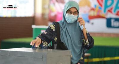 เลือกตั้งเทศบาล 3 จังหวัดชายแดนใต้คึกคัก ประชาชนทยอยใช้สิทธิ์ตลอดวัน ท่ามกลางมาตรการคุมโควิด-19