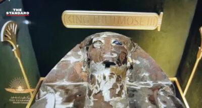 ขบวนเสด็จทองคำของฟาโรห์