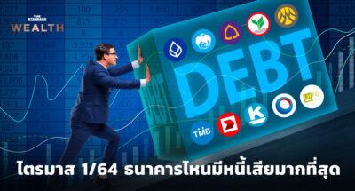10 ธนาคารพาณิชย์มีหนี้เสีย และการตั้งสำรองฯ ไตรมาส 1/64