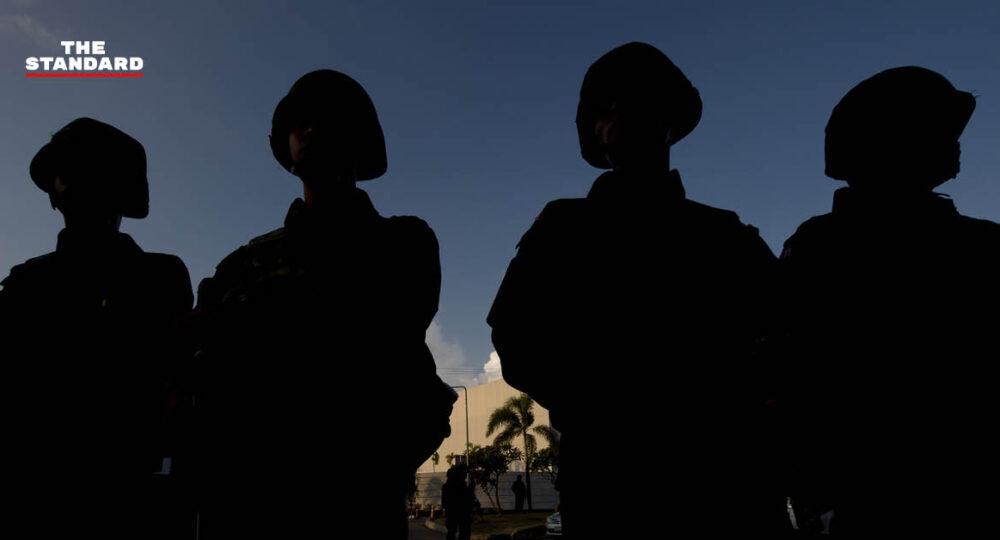 ทหารด่านหน้าฉีดวัคซีนโควิด-19