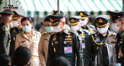 กองทัพบก เผย 5 วัน มีผู้สมัครใจเป็นทหารเกณฑ์ 15,303 คน ผบ.ทบ. ลงพื้นที่ดูความเรียบร้อย