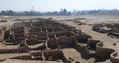 ยิ่งใหญ่อลังการ อียิปต์ค้นพบนครทองคำที่สาบสูญ อายุเก่าแก่ 3,000 ปี