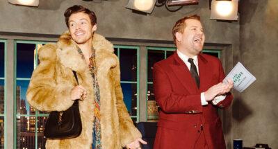 Gucci ปล่อยแคมเปญคอลเล็กชัน Gucci Beloved ที่มาในคอนเซปต์ทอล์กโชว์ของพิธีกร James Corden พร้อมแขกรับเชิญอย่าง Harry Styles